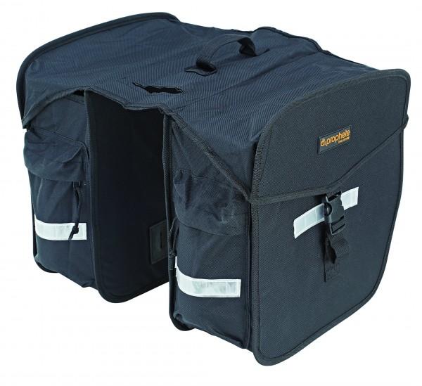 Prophete Doppel-Packtaschen schwarz 0602