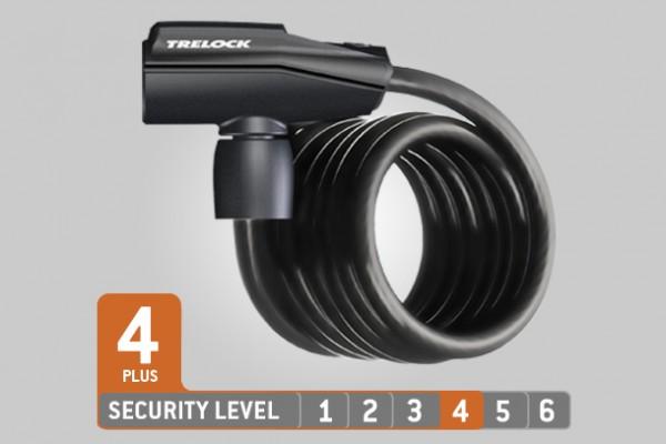 Trelock Spiralkabelschloss SK 460