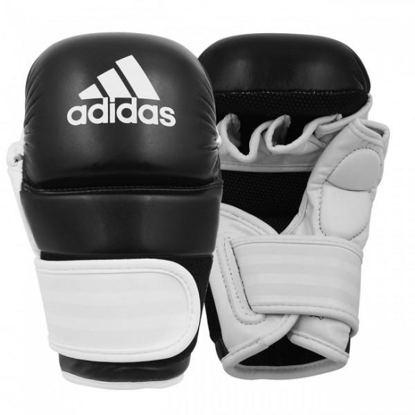 Adidas MMA Handschuhe schwarz/weiß