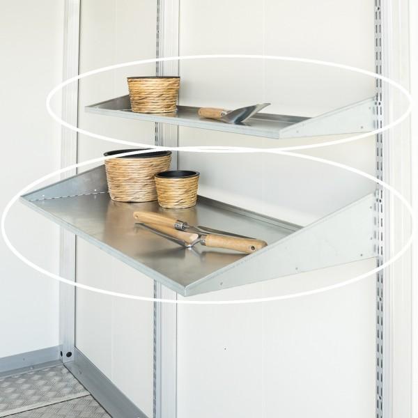 BIOHORT Regalböden für Nebengebäude CasaNova