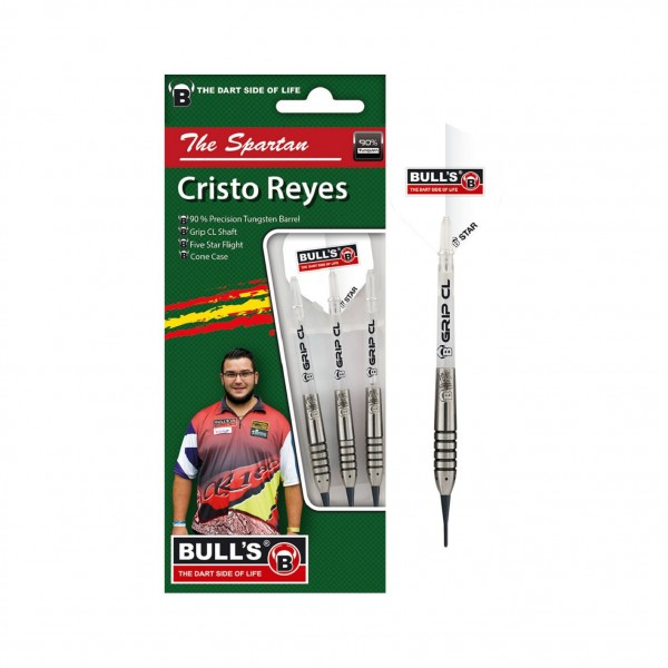 "BULL'S Champions Christo ""The Spartan"" Reyes Soft Darts"