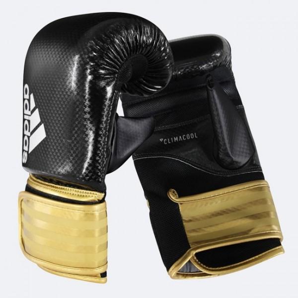 Adidas Boxhandschuhe Hybrid 75 schwarz/gold