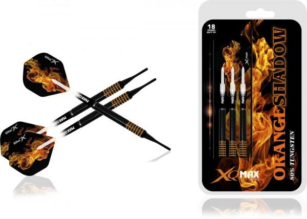 XQ MAX Orange Shadow 80% Tungsten Dartset Softtip