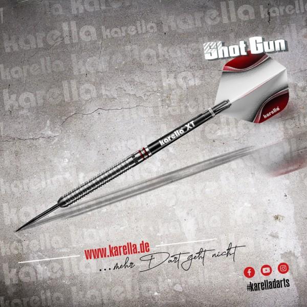 Karella Steeldart Shotgun, schwarz, 80% Tungsten