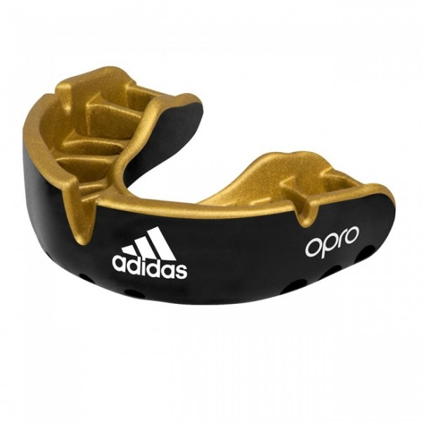 Adidas Mundschutz OPRO Gen4 Gold-Edition Schwarz