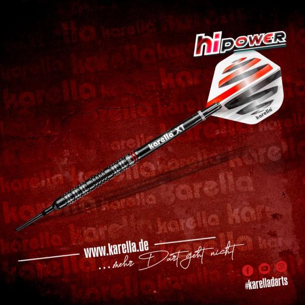 Karella Softdart HiPower, schwarz, 90% Tungsten