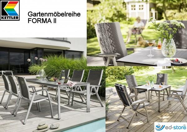 Kettler Gartenmöbelreihe FORMA ll