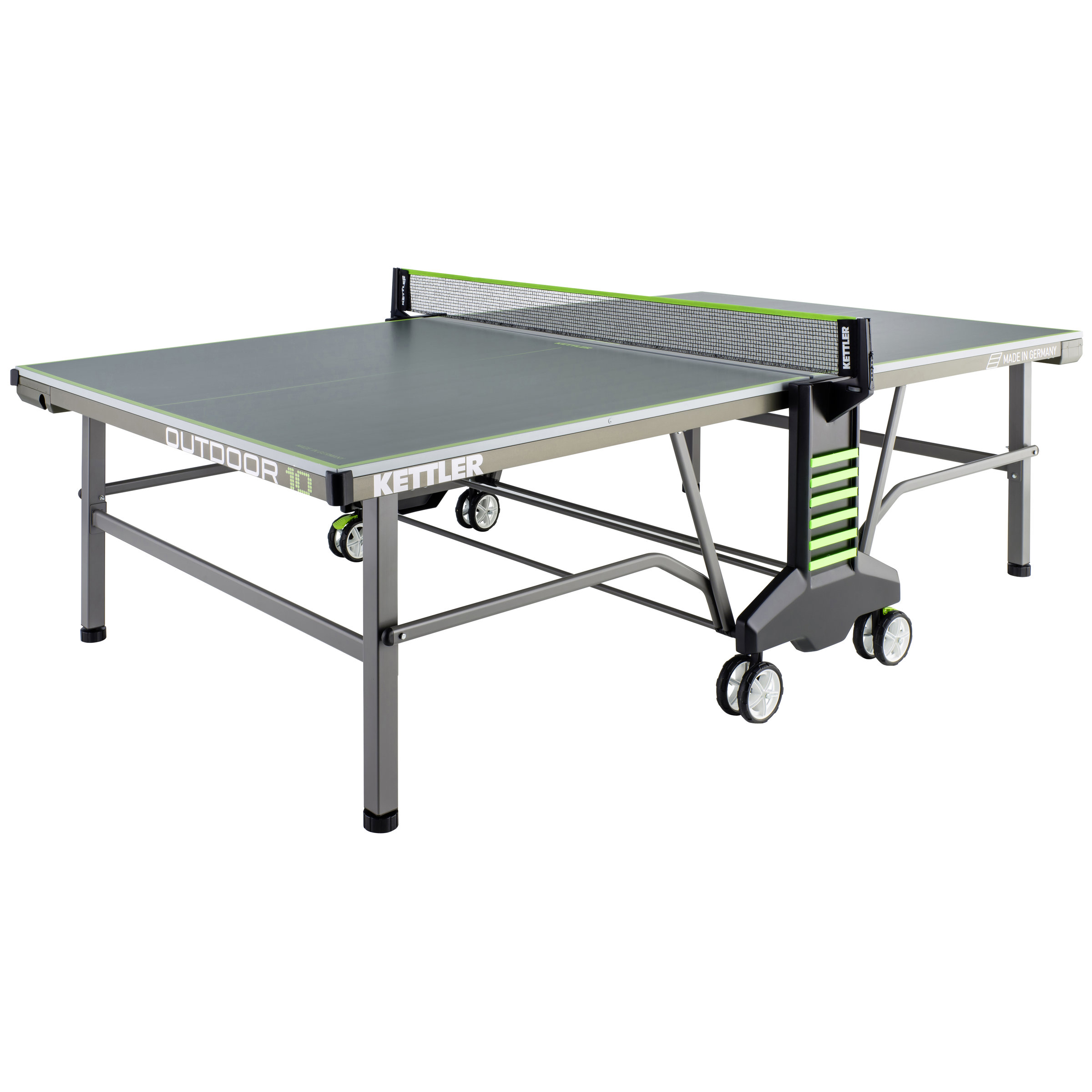 kettler tischtennisplatte outdoor 10 umbra gr n outdoor. Black Bedroom Furniture Sets. Home Design Ideas