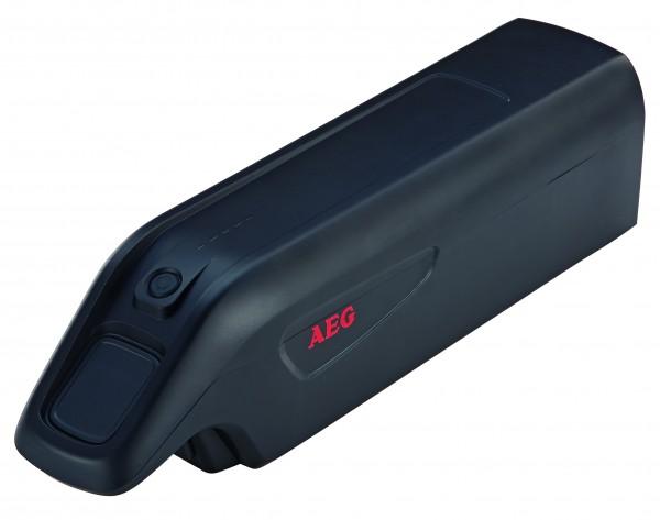 AEG Downtube Ersatzakku 0487 mit Gehäuse für Elektrofahrrad LI-Ionen 36V/ 10,4 Ah
