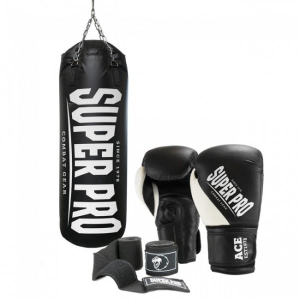 Super Pro Boxset Water Air Punchbag Set