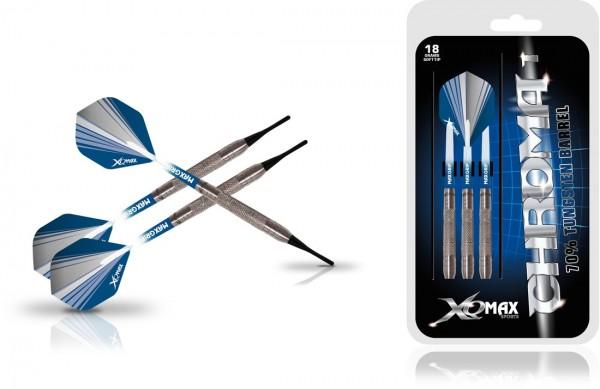 XQ MAX Chroma 70% Tungsten Dartset Softtip 18g