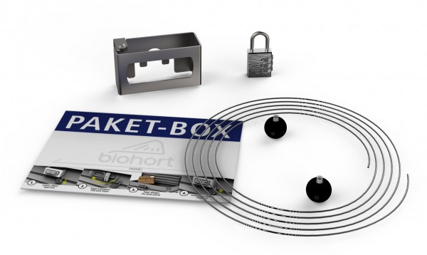 BIOHORT Paketbox-Kit für FreizeitBox