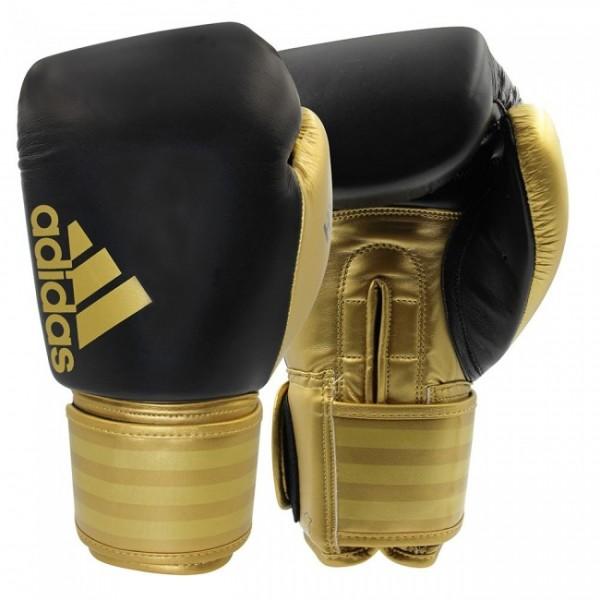 Adidas Boxhandschuhe Hybrid 200 schwarz/gold