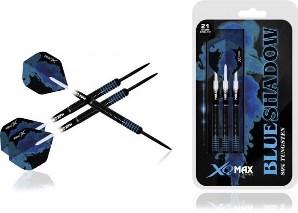 XQ MAX Blue Shadow 80% Tungsten Dartset Steeltip