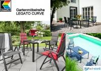 Kettler Gartenmöbelreihe LEGATO CURVE