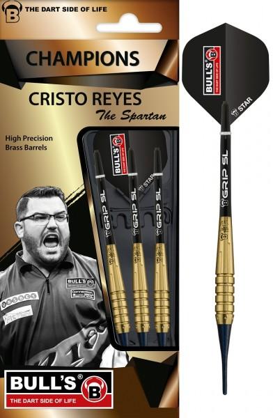 "BULL'S ""Cristo Reyes"" Original Brass Soft Darts"