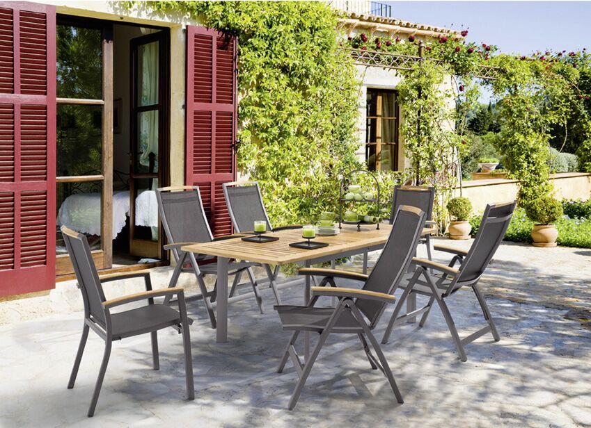Sieger Exclusiv Gartenmöbelreihe Catena | AluOutdoorgewebe