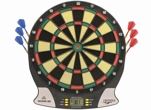 Carromco Score 301 elektronisches Dartboard 2.Generation 92016