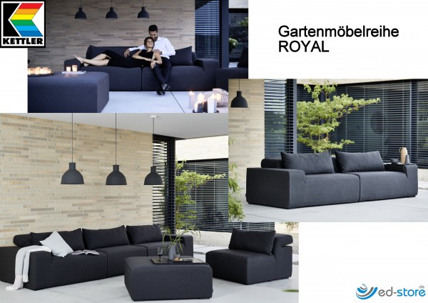 Kettler Gartenmöbelreihe ROYAL