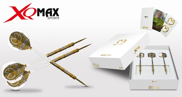 XQ MAX MvG World Champion 2017 Steel Dart - limited Edition -