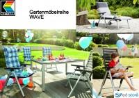 Kettler Gartenmöbelreihe WAVE