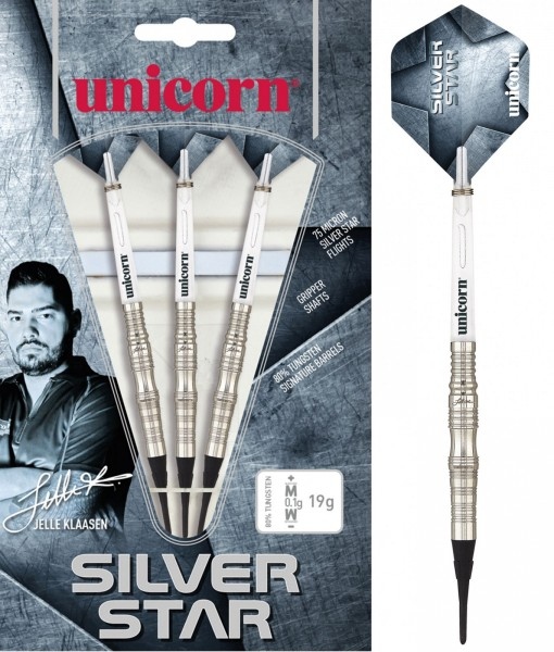 Unicorn World Champion Jelle Klaasen Silver Star Soft Darts
