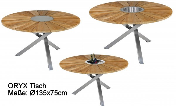 ZEBRA Tisch ORYX