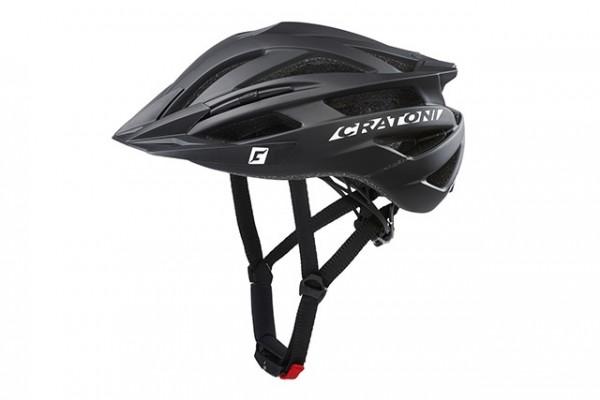 Cratoni Fahrradhelm Agravic black matt