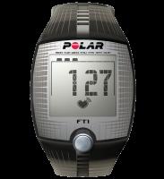 Polar FT1 Trainingscomputer Transparent Black