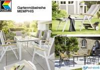 Kettler Gartenmöbelreihe MEMPHIS