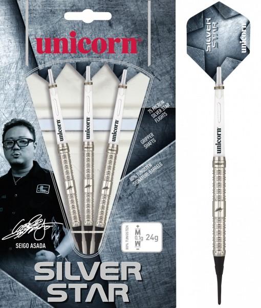 Unicorn Seigo Asada Silver Star Soft Darts