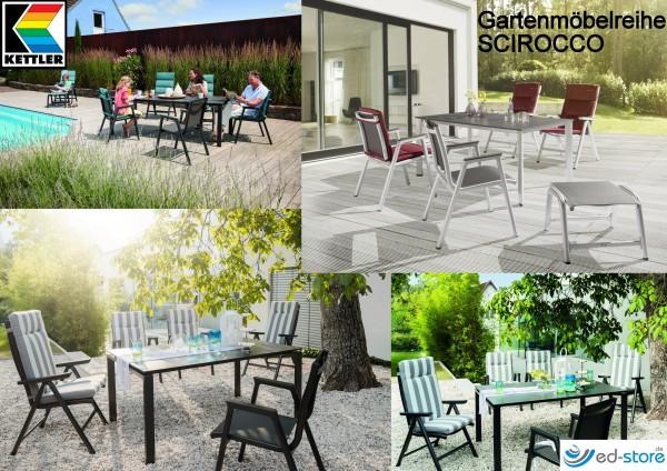 Kettler Gartenmöbelreihe SCIROCCO