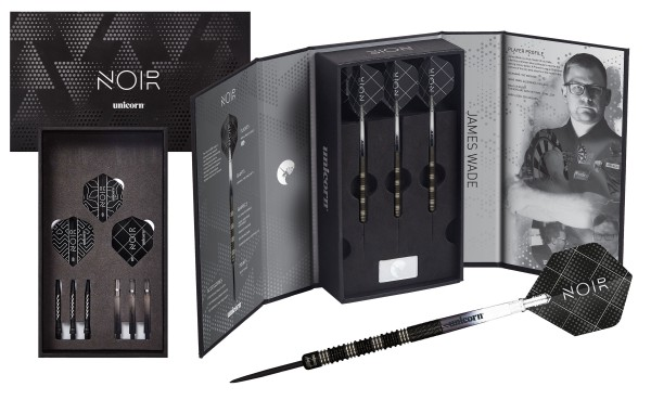 Unicorn Premier League Player James Wade NOIR Darts Presentation Box