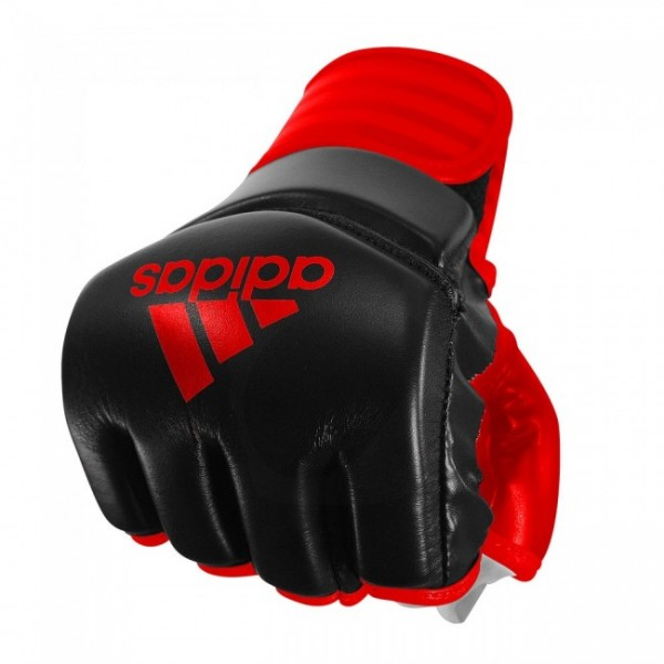 Adidas MMA / Ultimate Fight Handschuhe Traditionell schwarz/rot